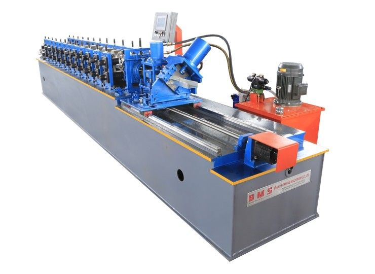 Full Auto Metal Stud And Track Roll Forming Machine 1.0-2.0mm Thickness Material