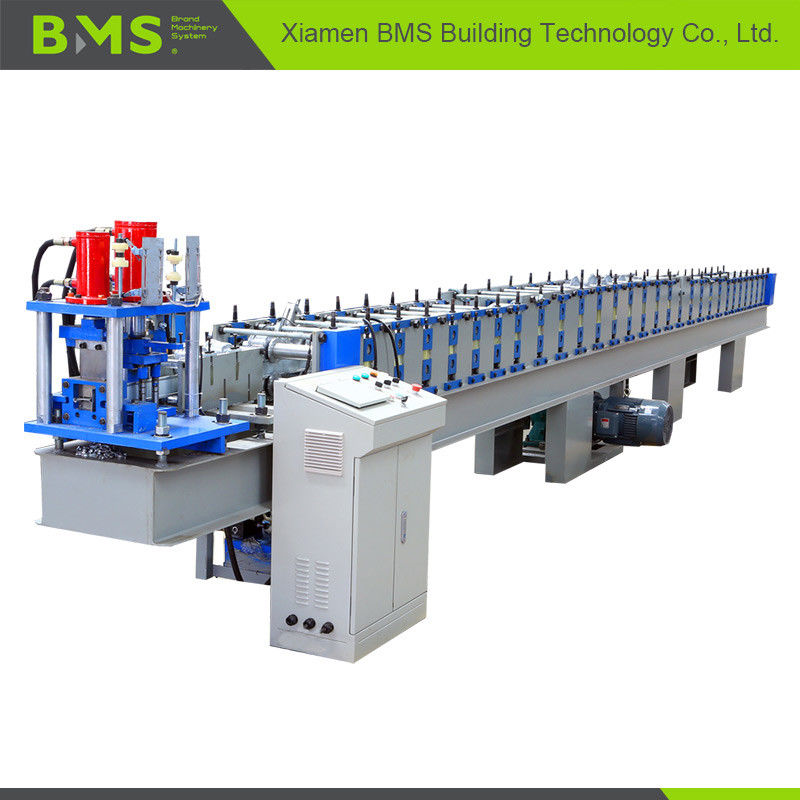 Hydraulic Cut Rolling Shutter Forming Machine For Door Frame / Door Slat Making