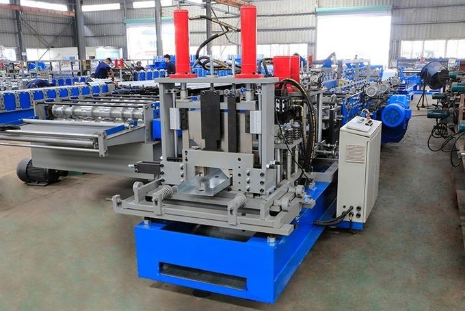 Highly Efficient Steel Profile Stud And Track Roll Forming Machine 18 Station