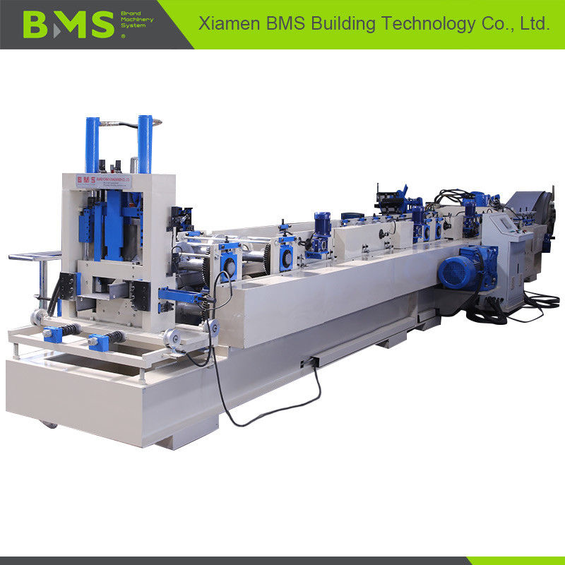 C To Z Shaped Purlin Roll Forming Machine , Steel Sheet Forming Machine