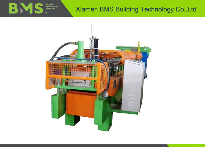 Durable Steel Wall Cold Roll Forming Machine Cr 12Mov Cutting Blade Material