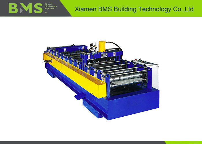 600A Type Steel Bar Truss Plate Bottom Sheet Metal Roll Forming Machines With High Speed